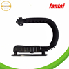 C-Shape Flash Bracket Holder Stabilizer opteka X-GRIP for DSLR SLR Camera Camcorder