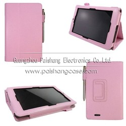 Book leather case for ASUS Memo Pad ME172V