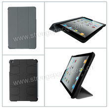 2013 Black Fashion Rubberied Laptop Case for iPad mini