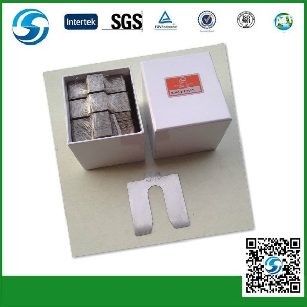 China supplier Stainless Steel Shims/ U type stainless steel shims