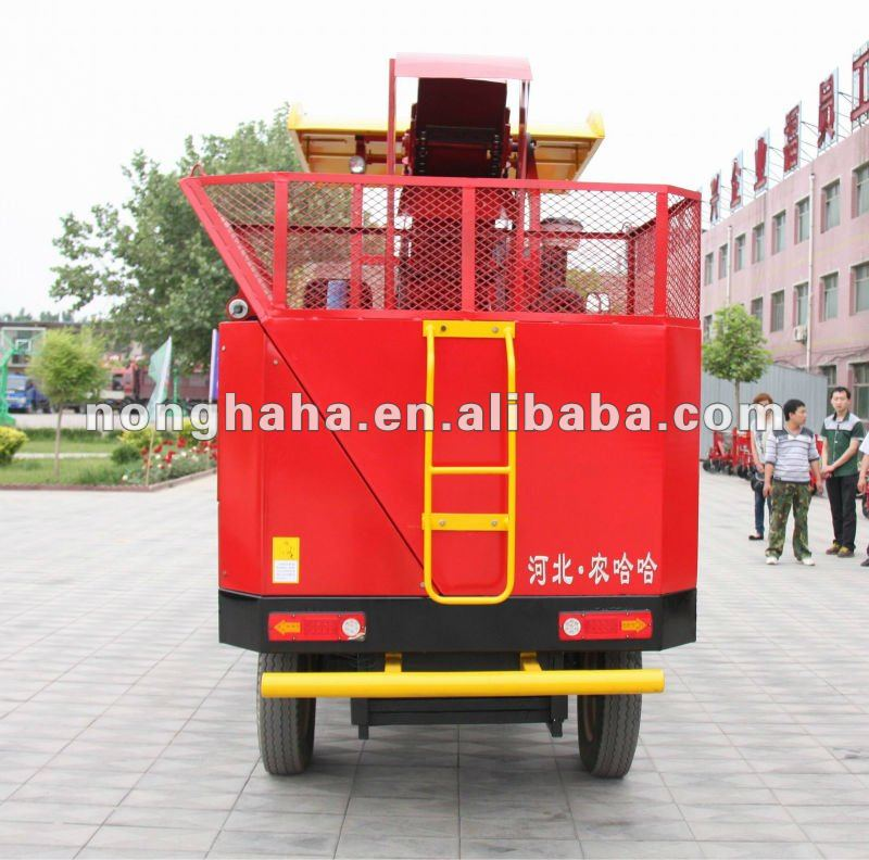 Agricultural machine/Farm machine/50hp/Self-propelled/Mini type/4YZ-3 corn combine harvester