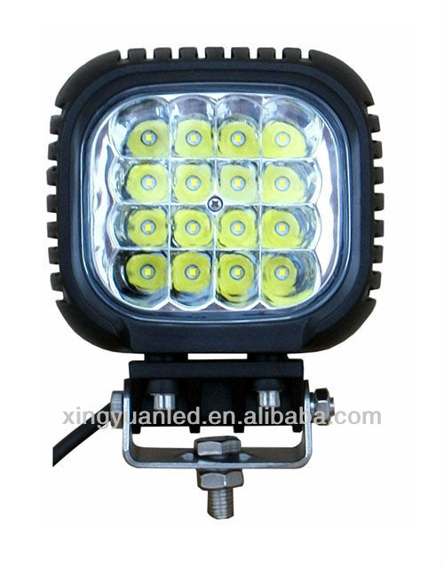 Super bright 48W led work light mining lamp, ip67 cree LED working light for tractor