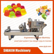 small cup jelly filling and sealing machine for sale