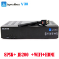 10pcs/lot digital full HD satellite tv receiver Jynxbox V30 with JB200 module + wifi antenna for north America