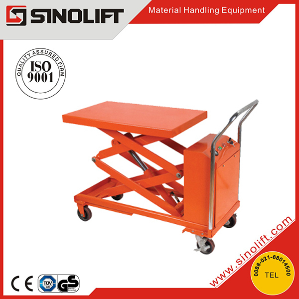 Hot- CYTD-S Double Scissors Table Truck