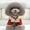 New style pet dog cotton-padded clothes autumn winter teddy dog jacket