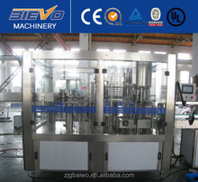 Small industrial mineral water production plant machinery project