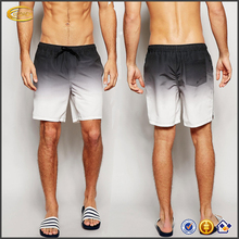 Wholesale Ecoach 2017 High quality Mid Length Mesh lining dip dye beach wear new summer fashion custom mens swim shorts