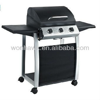 Economic Series Small Portable Gas BBQ With 3 Burners