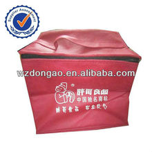 Promotion whole foods non woven cooler bag for frozen food
