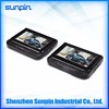 Wholesale best prices 7 inch headrest DVD player with additional 7 inch headrest monitor