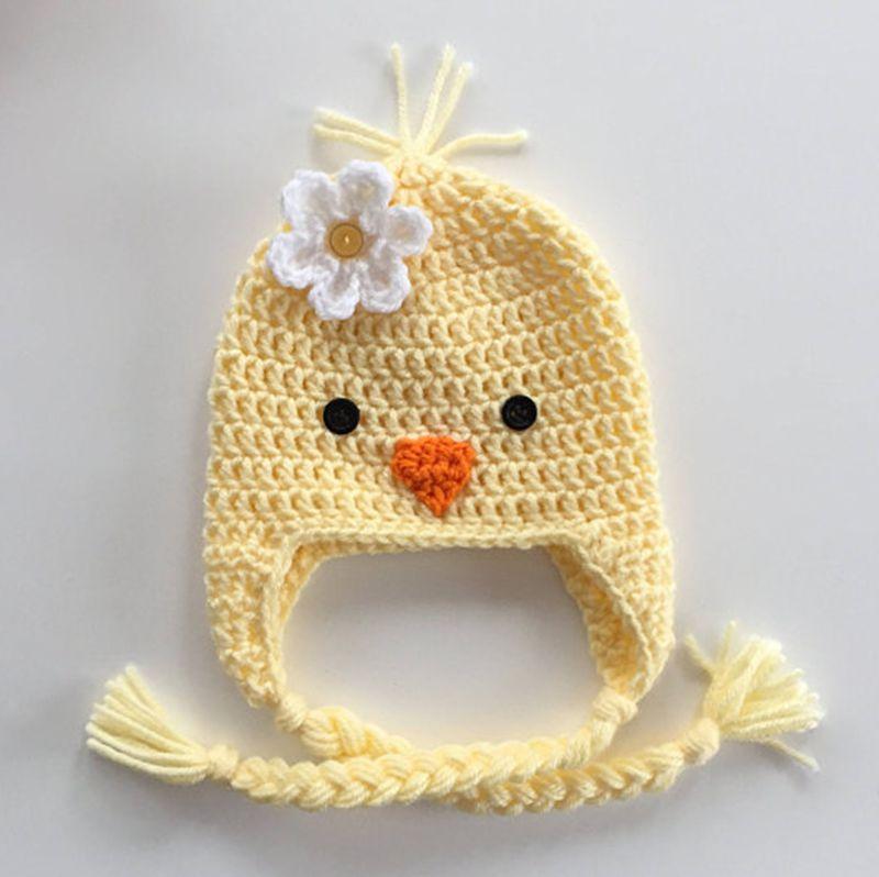 Venta al por mayor patrones gorros crochet de animales-Compre online ...