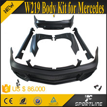 06-10 CLS-Class W219 Auto Body Kit with Fenders for Mercedes CLS350 CLS500 Wald Style