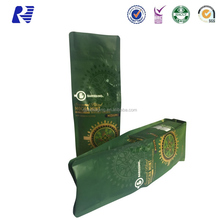 High Grade Customized zip lock aluminum foil coffee bean packing bag for sale