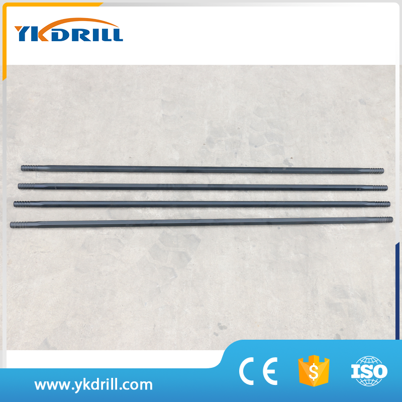 T38 drilling externsion bar, extension rod for rock drilling