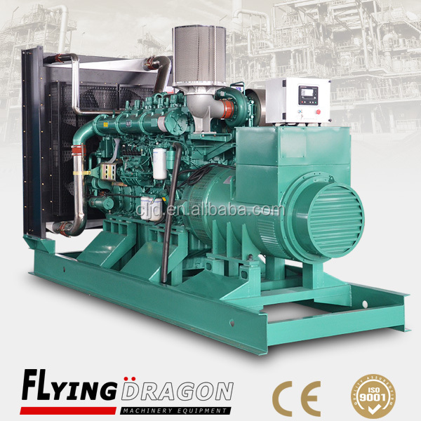 Chinese diesel engine 1500kva yuchai alternator generator with engine model YC12VC2070L-D20