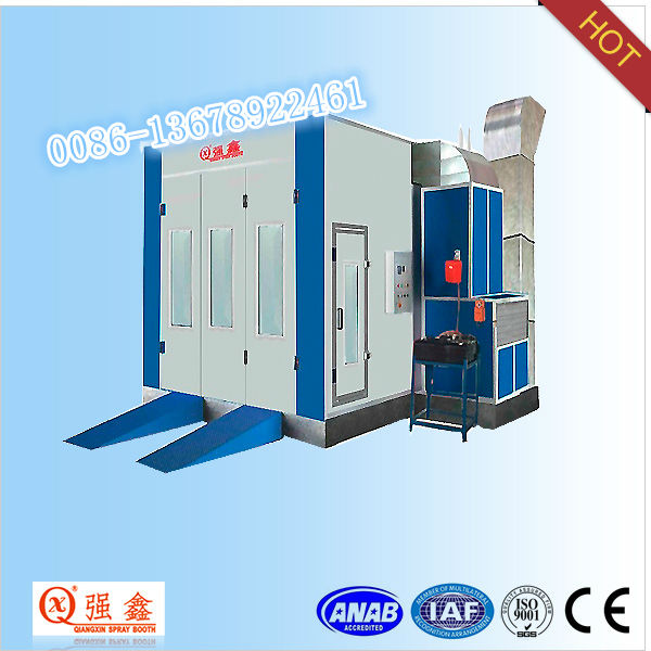 CE Approved Standard Diesel Heating Car Paint Oven (Model:QX1000)