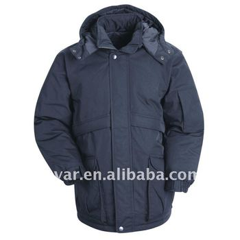 Man's heavy weight waterproof insulated winter coat