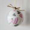 2016 Hot Sale.Clear Plastic Christmas Ball with Opening 2 part
