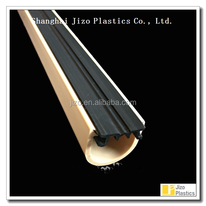 plastic pvc bumper feet protector;Plastic PVC bumpers for supermarket shelf
