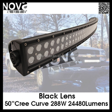 288W 50' C ree off road heavy duty, indoor, factory,suv military,agriculture,marine,mining work light led working light bar