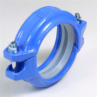 FM/UL Approval Grooved Ductile Iron grooved pipe coupling clamp
