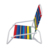 Logo customized 600D oxford fabric dry fast outdoor beach chair