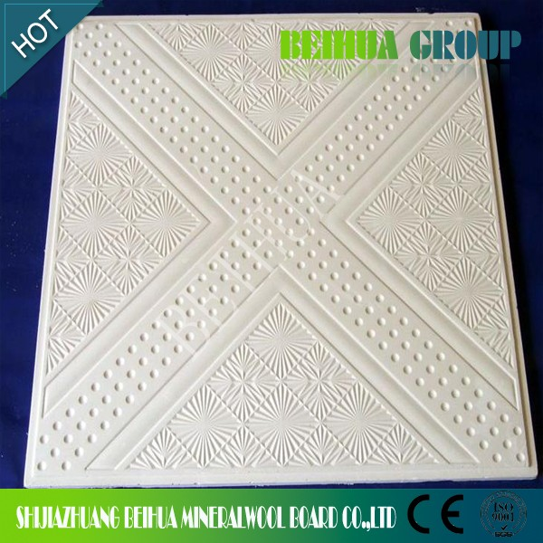 Moisture Resistant Gypsum Board Backs And Sides Front : Interior wall pvc decorative false ceiling designs gypsum