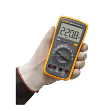 1000V Fluke 15B+ Digital Multimeter for AC/DC Resistance Measuring