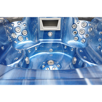 classical hot spa whirlpool hot tub JCS-09 with 7 seats