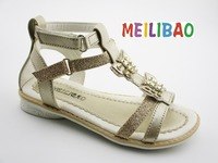 2016 fashion summer pump wedge sandals for baby