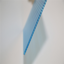 Grade A colored polycarbonate hollow sheet 2mm 4mm 6mm thickness
