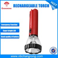 Rechargeable portable LED explosion proof flashlight , flame proof LED torch light