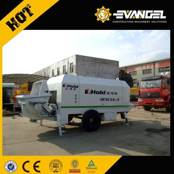 LiuGong Hold trailer concrete pump HBT60-13-132S diesel engine type