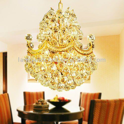 2011 Hotel Indoor Guest Room Crystal Ceiling Lamp