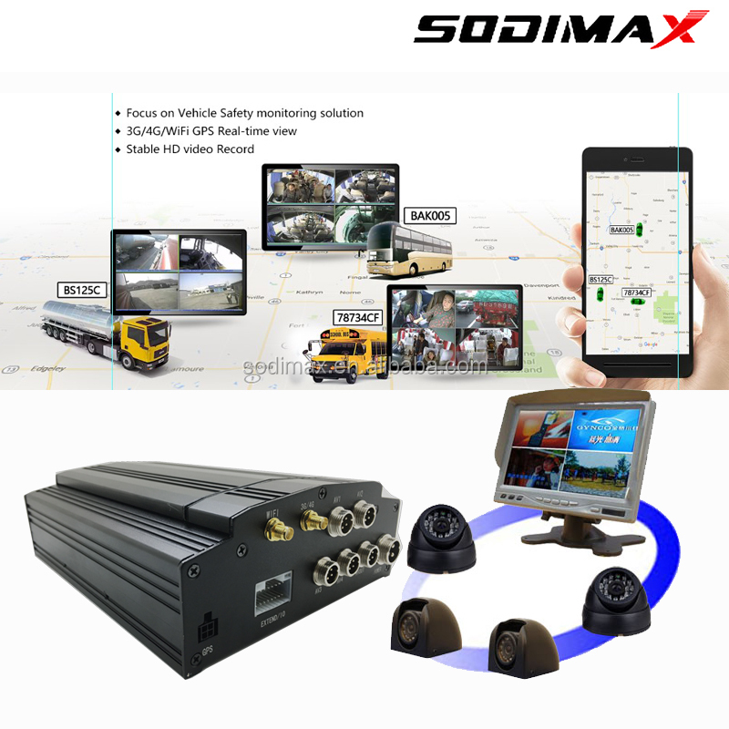 Most advanced video MDVR passenger counter for bus passenger calculation mobile DVR with WIFI GPS 4ch AHD CCTV mobile DVR/MDVR