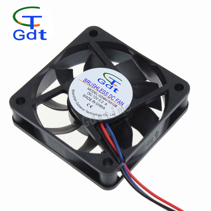 5V 24V 60mm x 60mm x 15mm 6cm 6015 2.4 Inch 12V Drum Exhaust Fan