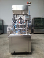 Fully automatic cheese filling machine/ Palm Oil Bottling Line High Speed CGF-2 1000-2000bph