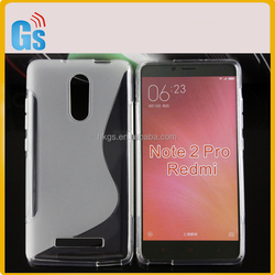 Indian Electronics Market S Line TPU Case For Xiaomi Redmi Note 3 / Note 2 Pro Cover