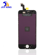 12 month warranty Cell phone spare parts replacement digitizer lcd touch screen complete for iphone 5 lcd assembly white