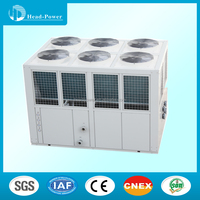 Dust and water splash proof air cooled multi water chiller with heat recover