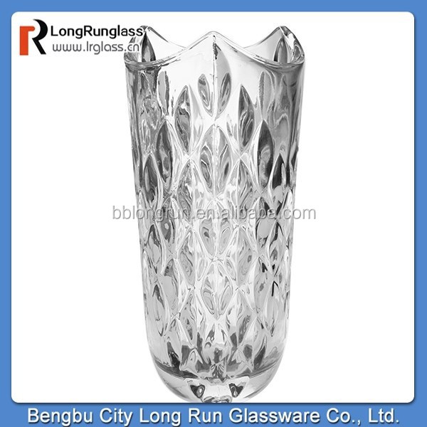 LongRun alibaba closeout gifts decorative carved centerpiece vase