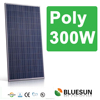 CE TUV ISO 25years warranty high quality BLUESUN poly 300w solar panel dealers