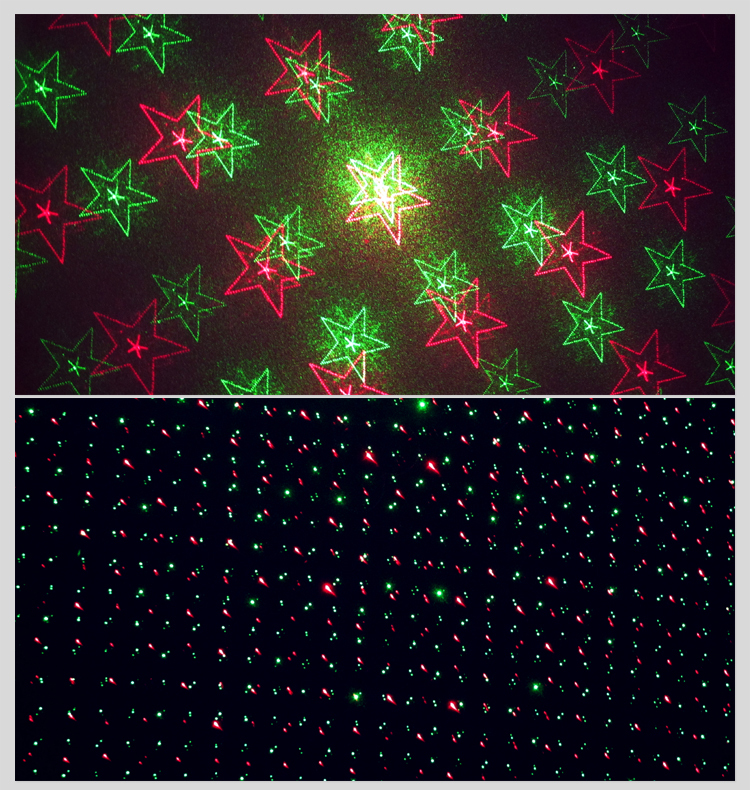Mini Laser Stage Lighting Red&Green Laser Color
