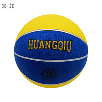 Newest outdoor little toy custom printed basketball ball