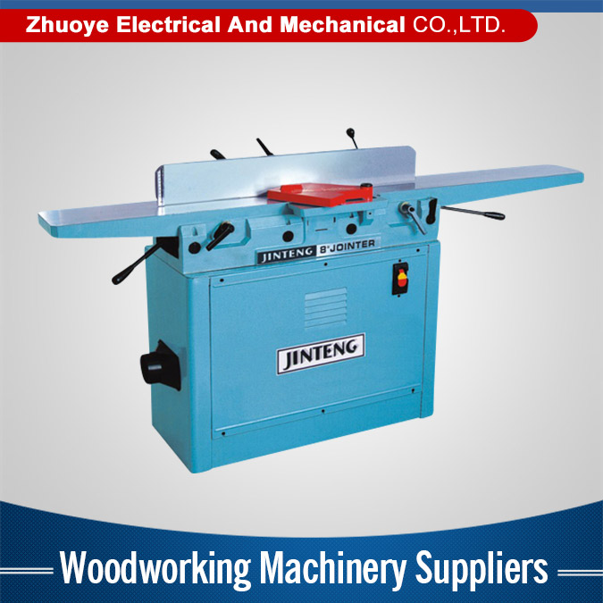 Alibaba supplier Powerful woodworking planer machine prices 8'' wood jointer machinery