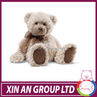ICTI and SEDEX audit peluche wholesell OEM design 25cm soft plush promotional soft joint teddy bear toy