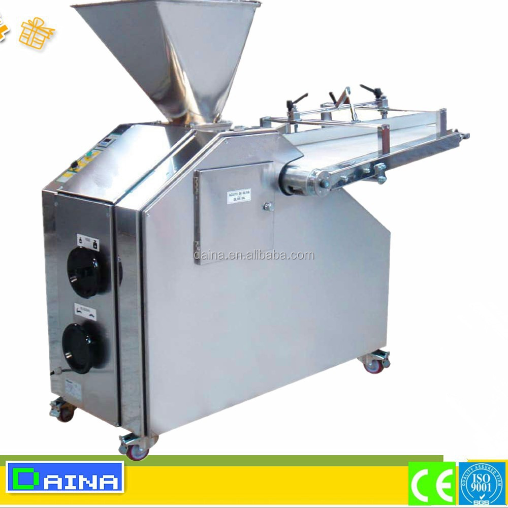 automatic continuous dough divider and rounder/volumetric dough divider