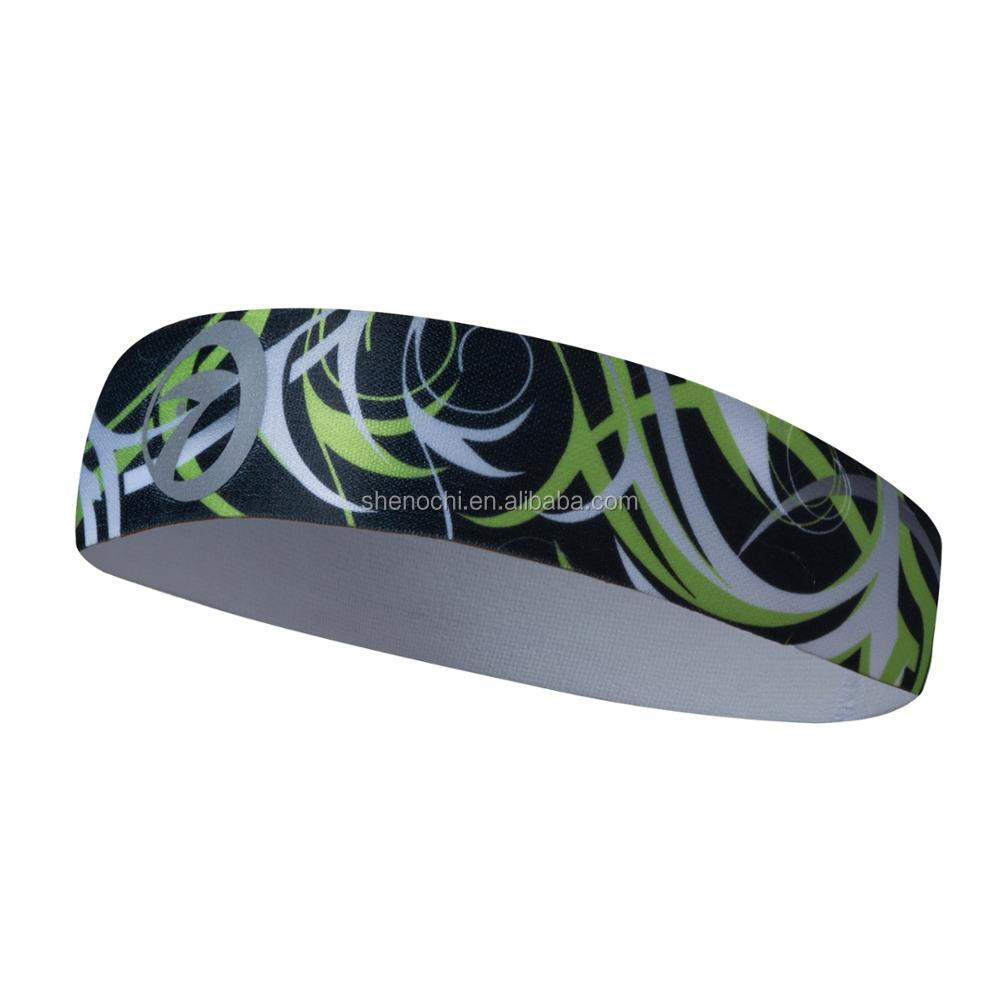 Sports assorted colors knitted fancy girls hair headbands for fitness