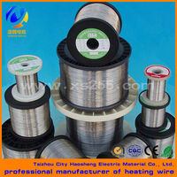 Round and flat resistance heating wire and resistance wire with bright annealed or oxidized surface